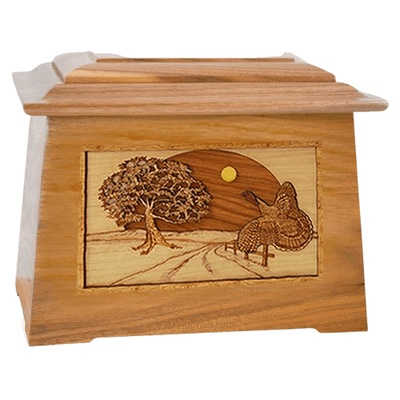 Turkey Oak Aristocrat Cremation Urn
