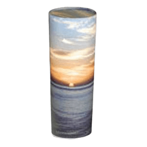 Ocean Sunset Scattering Mini Biodegradable Urn