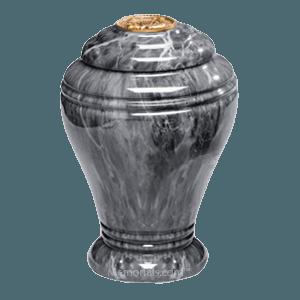 Midnight Onyx Marble Cremation Urns