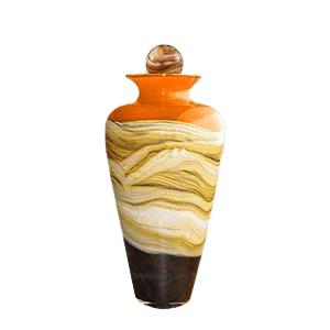 Celestial Mandarin Medium Art Urn