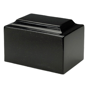 Orca Black Granite Cremation Urns