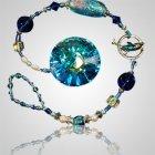Ash Beads Aquamarine Suncatcher