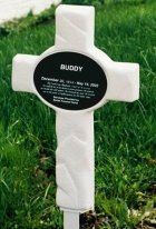 Pet Memorial Cross