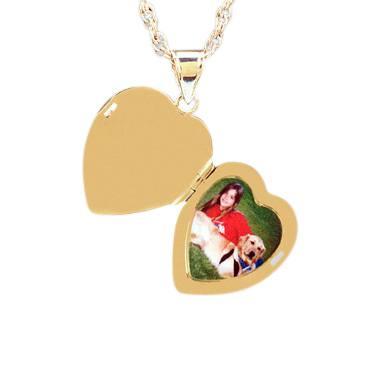 Heart Photo Keepsake Jewelry II
