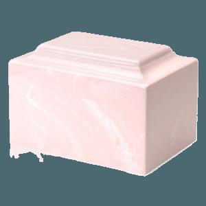 Pink Marble Individual Urn