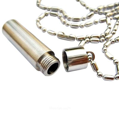 Pet Bullet Cremation Keychain