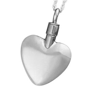 Elegance Heart Keepsake Pendant