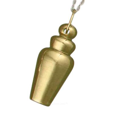 Plated Vessel Cremation Pendant