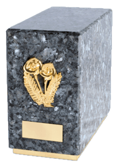Agra Blue Pearl Cremation Urn