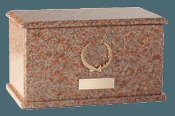 Charleston Vermilion Cremation Urn