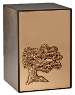Evergreen Bronze Cremation Urn