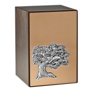 Evergreen Bronze Cremation Urn