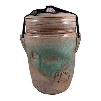 Gulf Sands Soda Fired Urn