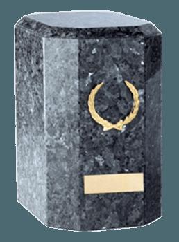 Kaiser Blue Pearl Cremation Urn