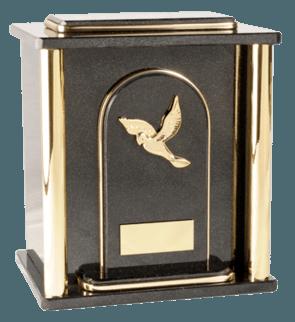 Kratos Nero Cremation Urn