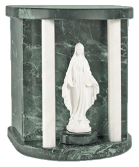Lady Mary Green Cremation Urn