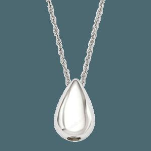 Large Teardrop Cremation Pendant