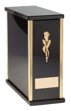 Pati Nero Cremation Urn