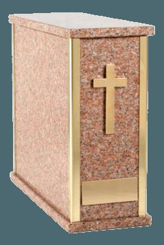 Pati Vermilion Cremation Urn