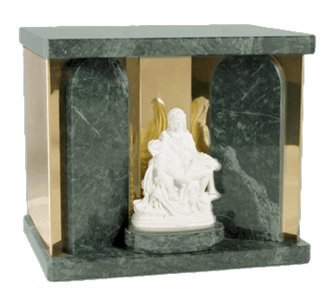 Pieta Green Companion Urn