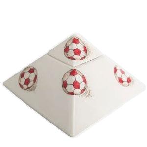 Soccerball Pyramid Keepsake Cremation Urn