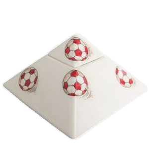 Soccerball Pyramid Cremation Urn