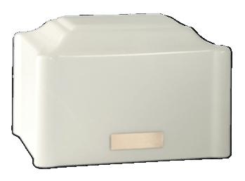 Vitalis White Cremation Urn