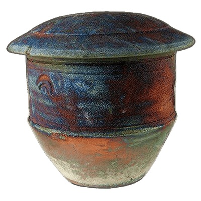 Archer Raku Keepsake Urn
