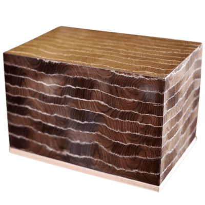 Bark Wood Cremation Urns