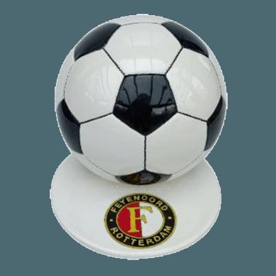 Black Logo Soccerball Urns