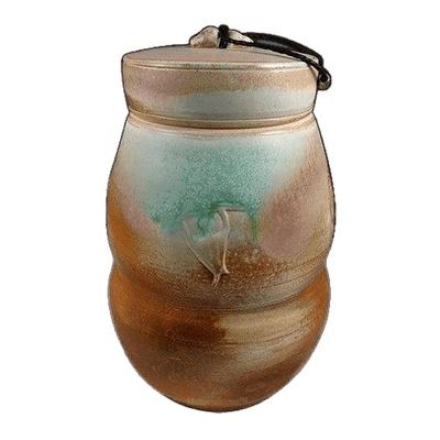 Cambridgeshire Soda Fired Urn