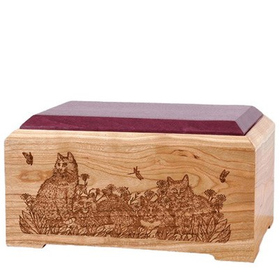 Cat Lovers Cremation Urn