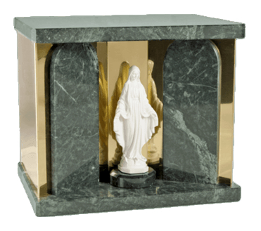 Mother Mary Green Companion Urn