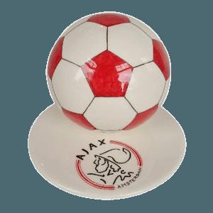 Red Logo Small Soccerball Urn