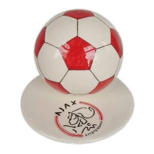 Red Logo Soccerball Urns