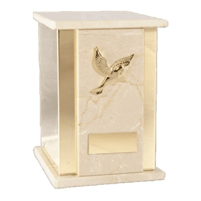 Rialto Botticino Cremation Urn