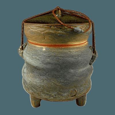 Rustic Desert Soda Fired Urn