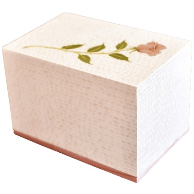 Salve Wood Cremation Urn