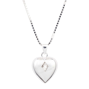 Shining Heart Cremation Pendant