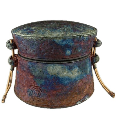 Star Catcher Raku Keepsake Urn