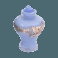 Magellan Baby Blue Cremation Urn