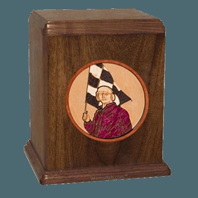 Racing Cremation Urn