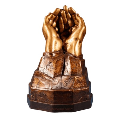 Unique Open Hands Urn