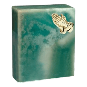 Guardian Praying Hands Cremation Urn