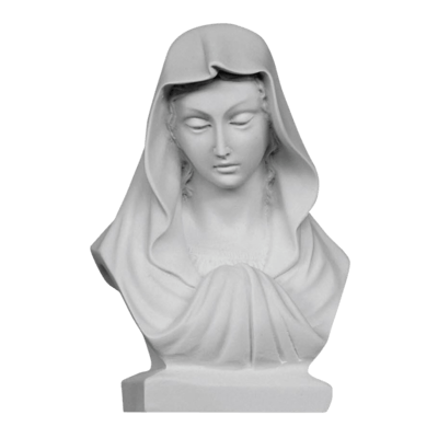 Graceful Madonna Marble Statue