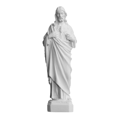 Giving Heart Of Christ Marble Statue II