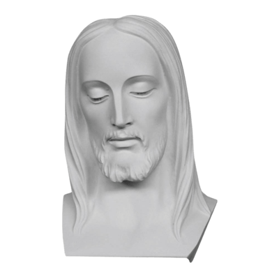 Jesus Thoughts Marble Statue
