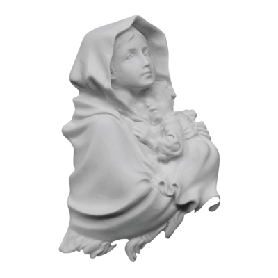 Our Lady Of Ferruzzi Marble Statue