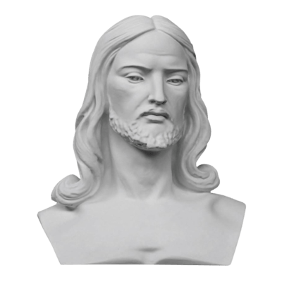 Wise Christ Marble Statue
