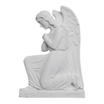 Protecting My Angel Marble Statue